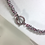 Thumbnail: Pink Byzantine Chainmaille Handcrafted Necklace