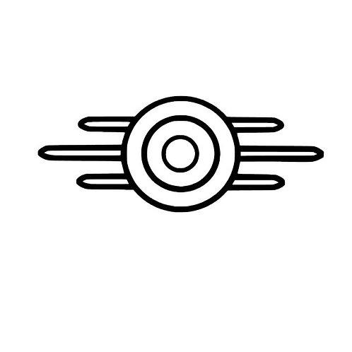 Vault-Tec Logo, Fallout New Vegas, Fallout 4
