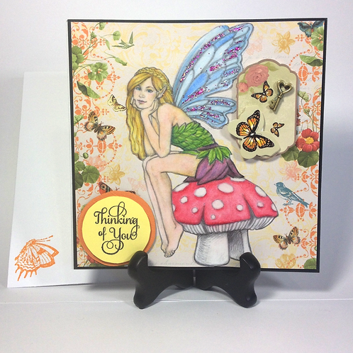 Thinking of You / Fairy Greeting Card