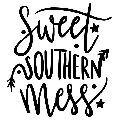 Sweet Southern Mess Vinyl Decal - Redneck Ladies - Sassy Southern Girls