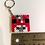 Thumbnail: Keychain (handmade) - Mini-Bead Minecraft Mooshroom Head