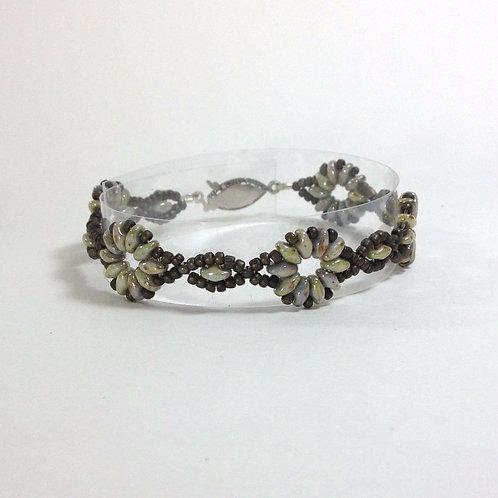 Medieval Stone Roses Handmade Bracelet