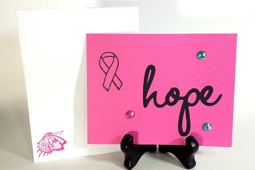 Pink Hope Breast Cancer Awareness / Notecards