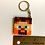 Thumbnail: Keychain (handmade) - Fuse Bead Minecraft Steve Head