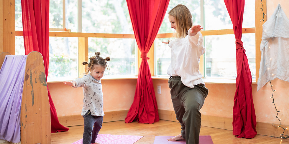 Kids Yoga - May Faire 2019