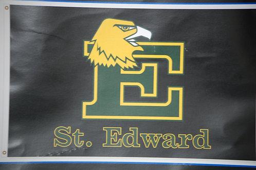 Flag Block E 3x5 Black