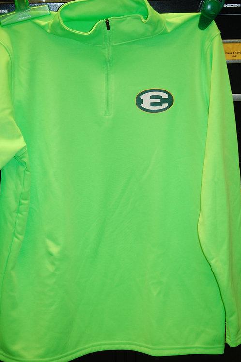 1/4 Zip Performance Lime Green