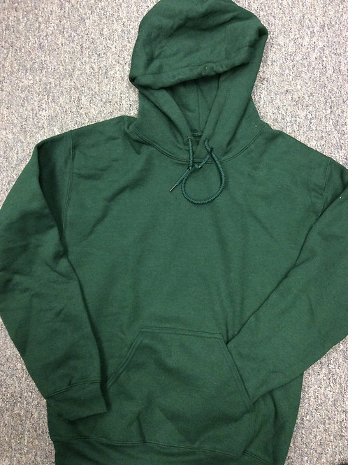 Custom Football Hoodie Sweatshirt  50/50 Forest