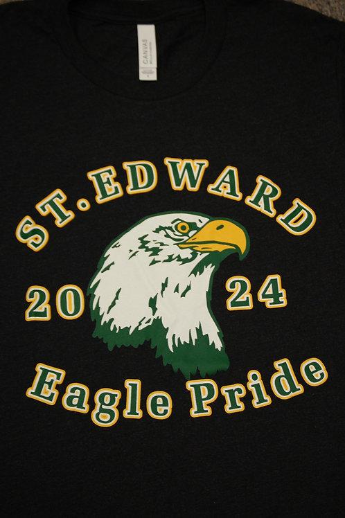 Tshirt SS Class of 2024 Black Triblend