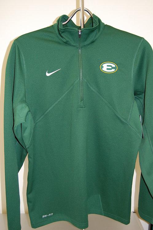 1/4 Zip Nike Training Top Green