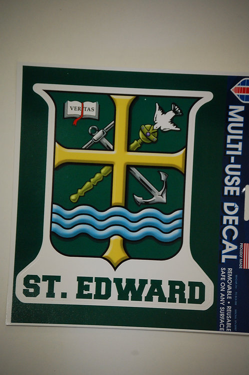 Decal St. Edward Shield Die cut(Outside)