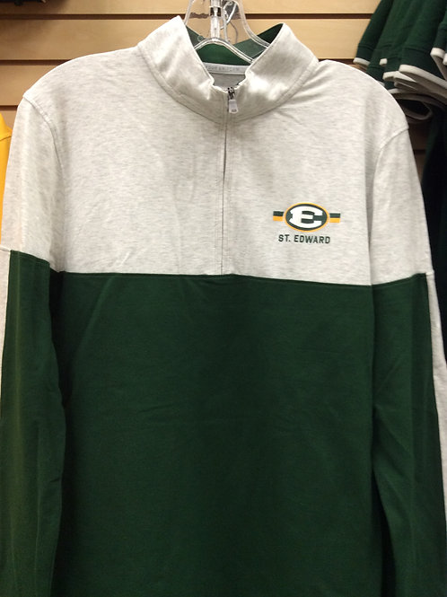 1/4 Zip Under Armour Gameday  Grn/Silver
