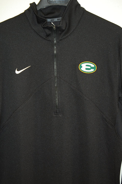 1/4 Zip Nike Training Top Black