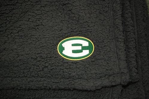 Blanket Sherpa 50x60 Charcoal