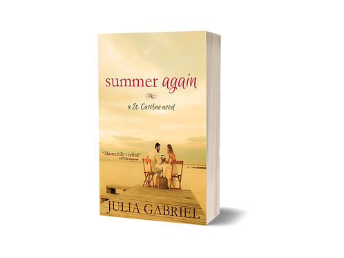 Summer Again, signed paperback copy