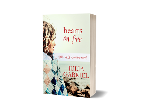 Hearts on Fire, signed paperback