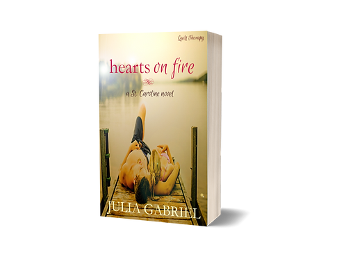 Hearts on Fire, ORIGINAL COVER, signed paperback