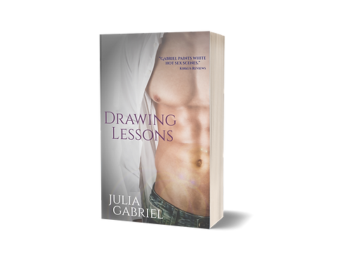 Drawing Lessons, SEXY COVER, signed paperback