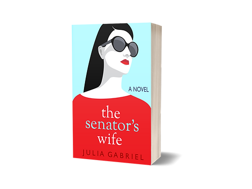 The Senator's Wife, signed paperback copy