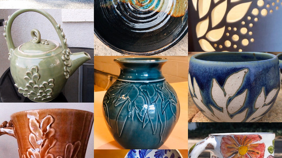 Pottery Decoration Techniques 6 Week Course