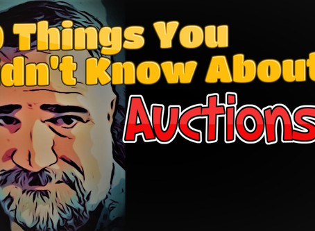 10 Things You Didn't Know About Auctions