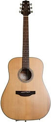 Takamine 6 String Acoustic Guitar, Right