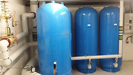 Commercial expansion vessels