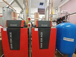 Commercial | School boiler installation
