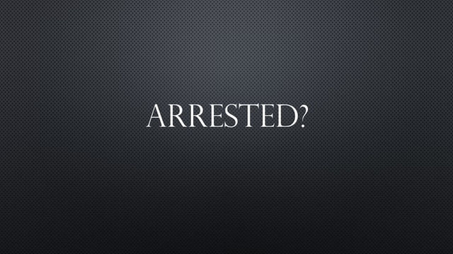 Arrested? Need Help? Call 601-345-2900