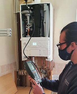 Home boiler service
