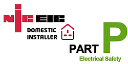 NICEIC domestic installer & Part-P logo
