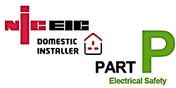 NICEIC domestic installer & Part-P logo