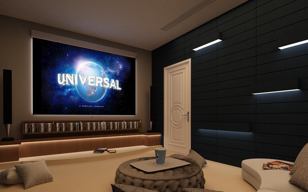 ev sinema salonu