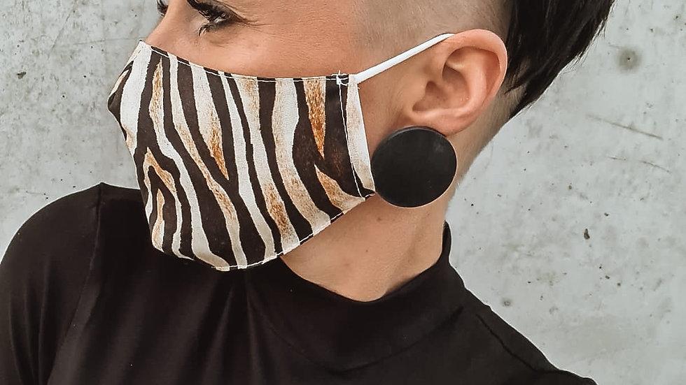 """Einzigartig. Mund-Nasen-Maske """"Tiger"""""""