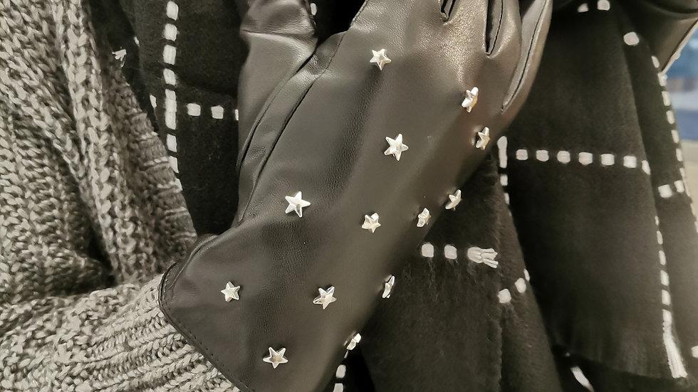 """Einzigartig. Handschuhe """"Leather Star"""""""