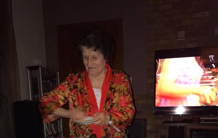 babcia i wierni fani jej kuchni :)