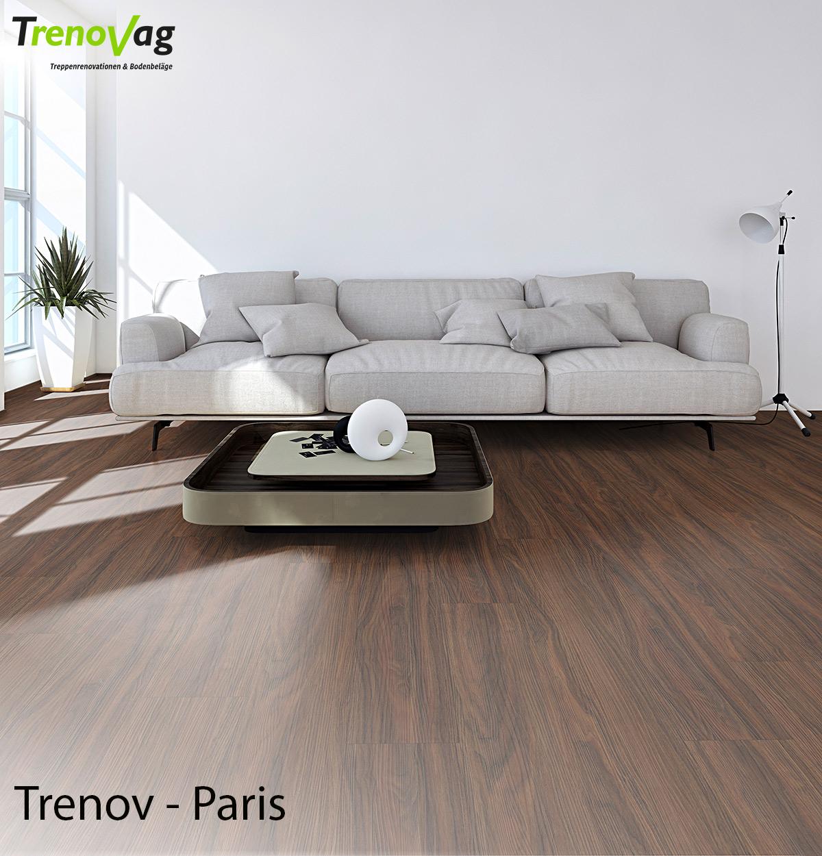 Trenov - Paris, Vinyl, Trenov-Vinyl, Designboden, Vinylboden, Vinyl verlegen, Vinylfussboden, Boden