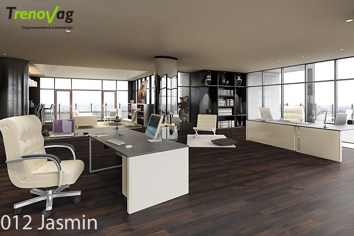 012 Jasmin, Trenov-Parkett, Parkettboden, Landhausdielen, Eichenparkett, Parkett verlegen, Bodenreno