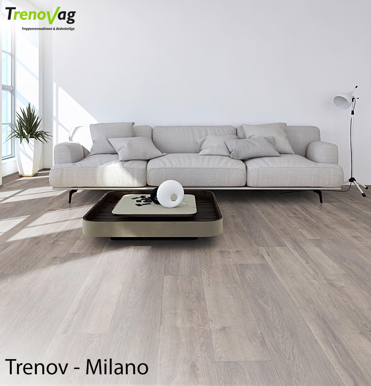 Trenov - Milano, Vinyl, Trenov-Vinyl, Designboden, Vinylboden, Vinyl verlegen, Vinylfussboden, Boden