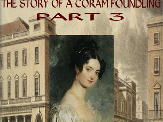AMY, THE STORY OF A CORAM FOUNDLING -JUST RELEASED IN PAPERBACK IN 3 PARTS