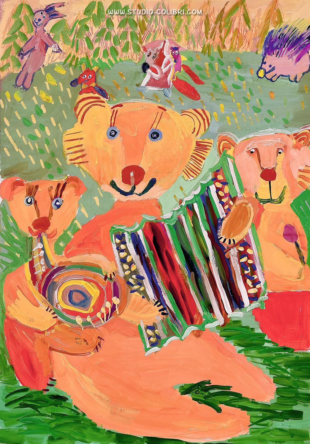 Детская студия Колибри Рязань