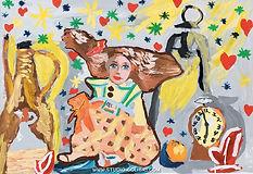 Тема занятия: Натюрморт с куклами Колибри Рязань