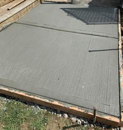 Concrete Pad  Woodbridge Township