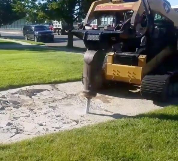 Demolition of Concrete Driveway Carteret