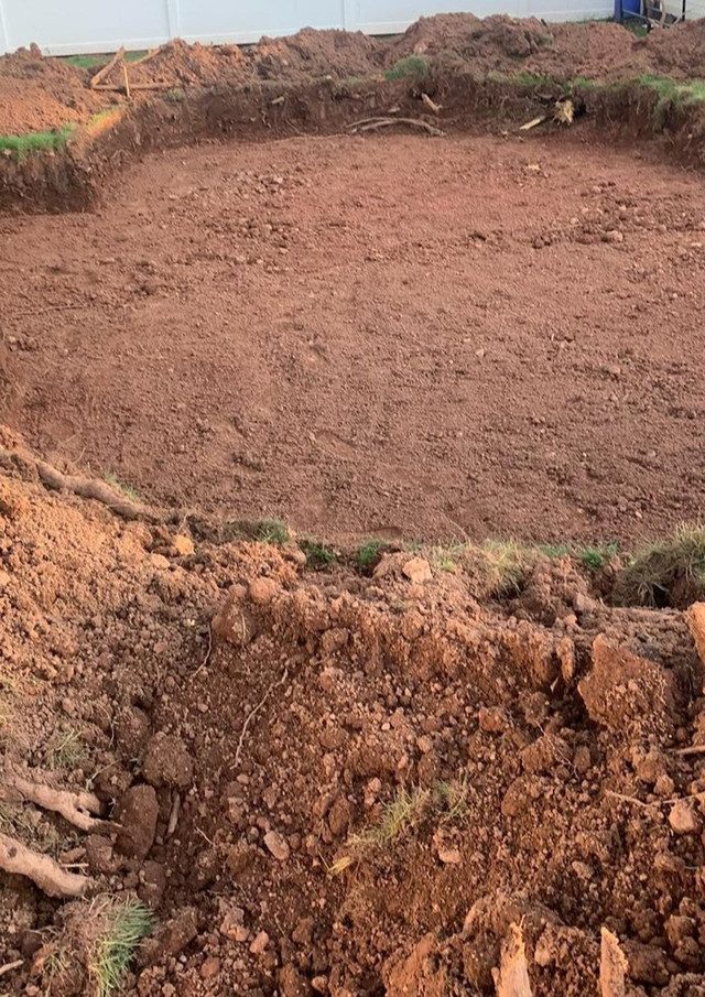 Excavation for Pool  Colonia