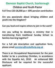 Children and Youth Pastor Advert.png