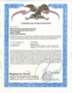 Maydi Frankincense fda certificate.png