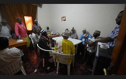 Maydi Frankincense tribal leader meeting