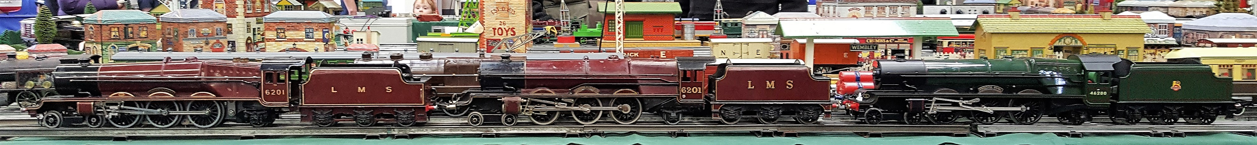 Hornby B-L and Corgi Princesses