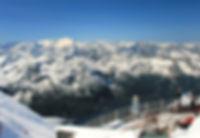 výhled z Kitzsteinhornu